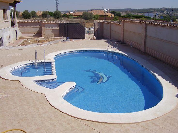 M s de 1000 ideas sobre piscina con forma de ri n en for Piscina juan de toledo