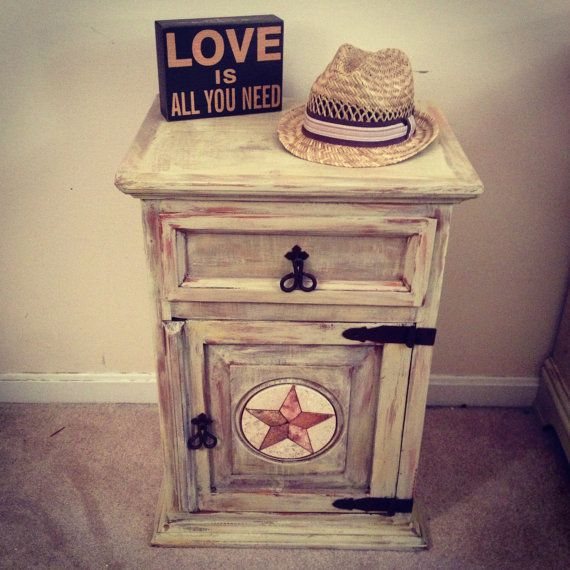 distressed end table diy 2
