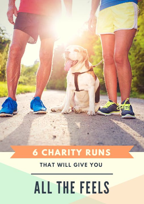 Whether you want to set a new PR or flex your philanthropic muscles, you'll have a blast at any one of these worthwhile and impactful charity runs. 6 Charity Runs That Will Give You All the Feels http://www.active.com/running/articles/6-charity-runs-that-will-give-you-all-the-feels?cmp=17N-PB33-S14-T1-D6--1088