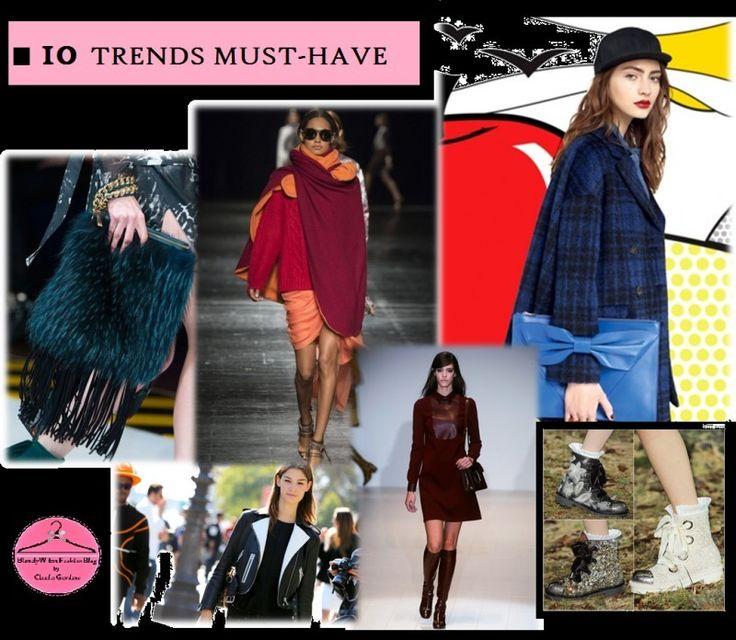 Trend Alert: le 10 tendenze invernali (+1) da non lasciarsi sfuggire by @BWFashionBlog