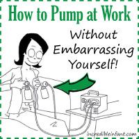 How to Pump at Work (Without Embarrassing Yourself) -- a FANTASTIC read for all the new mommas!!