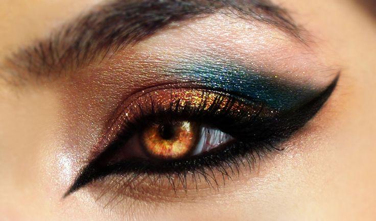 Grand Arabia Eye Makeup by Desert-Winds.deviantart.com on @deviantART - Spooky Cool!