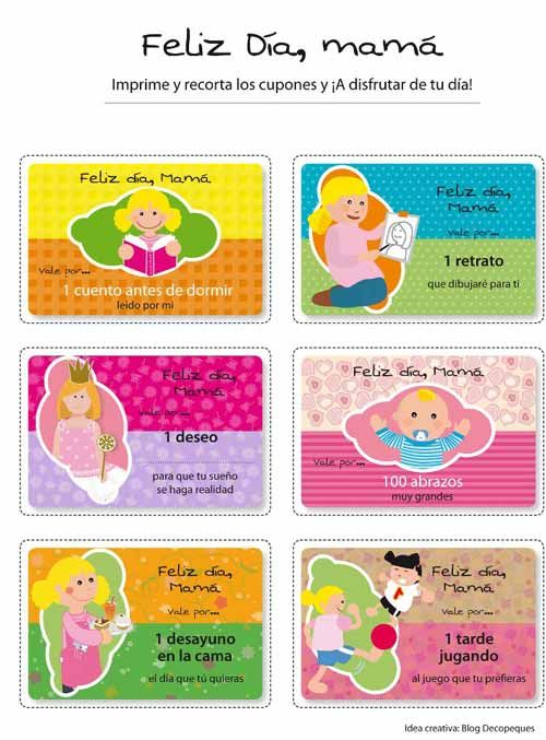 Manualidades para el dia de la madre decoracion infantil for Decoracion para el dia de la madre