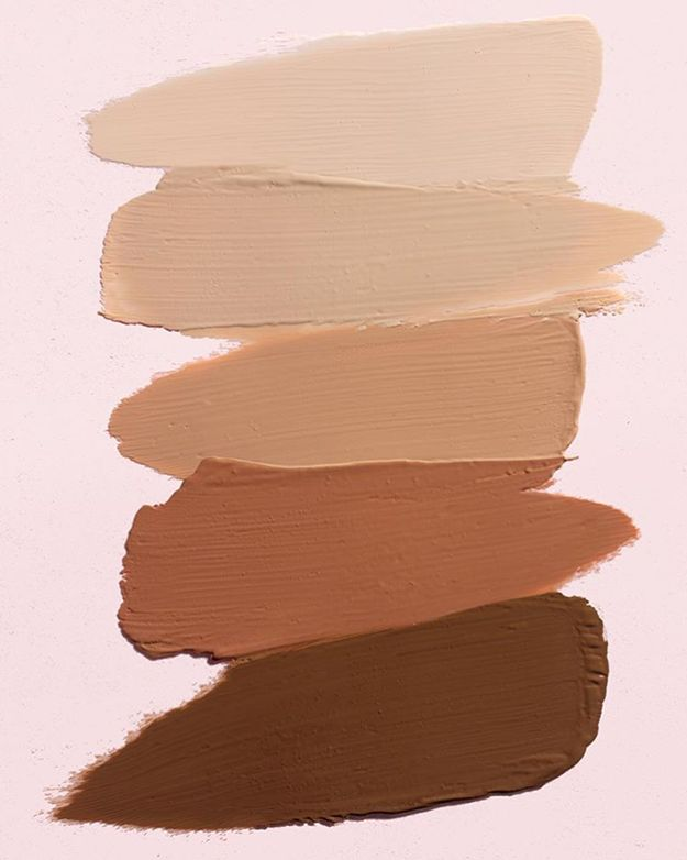 "Glossier Stretch Concealer in (Top To Bottom) ""Light, Medium, Deep, Dark, Rich"" ($18 Each)"