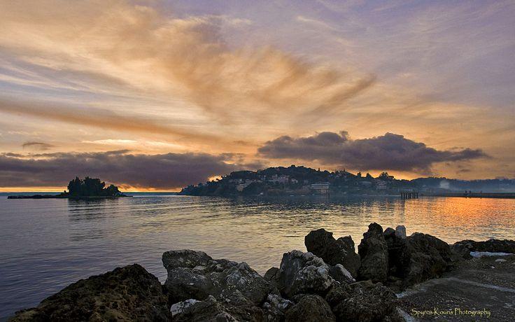 Landscape, Photography, Greece, Corfu, Sunset, Islands, Sea