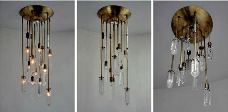 petitecandela: BLOG DE DECORACIÓN, DIY, DISEÑO Y MUCHAS VELAS: Hechas a mano: lámparas #vintage #lamp #diy