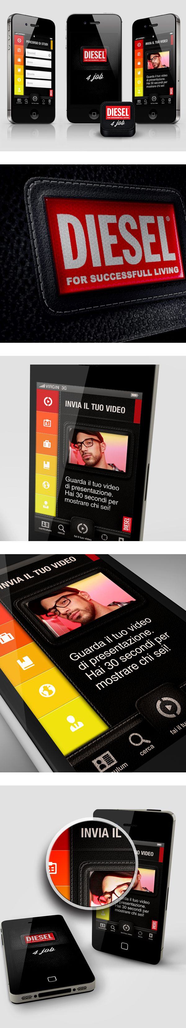 Mobile UI - App Proposal by Gaia Zuccaro, via Behance