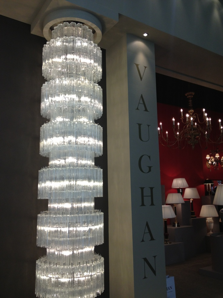 The Studio Harrods visits Maison & Objet - Vaughan Cascade Chandelier