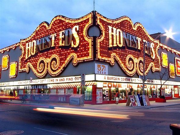 Honest Ed's - a Toronto landmark (located at Bloor & Bathurst)