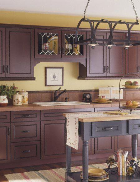enchanting yellow kitchen walls decorating ideas | 17 Best images about Kitchens on Pinterest | Stove ...