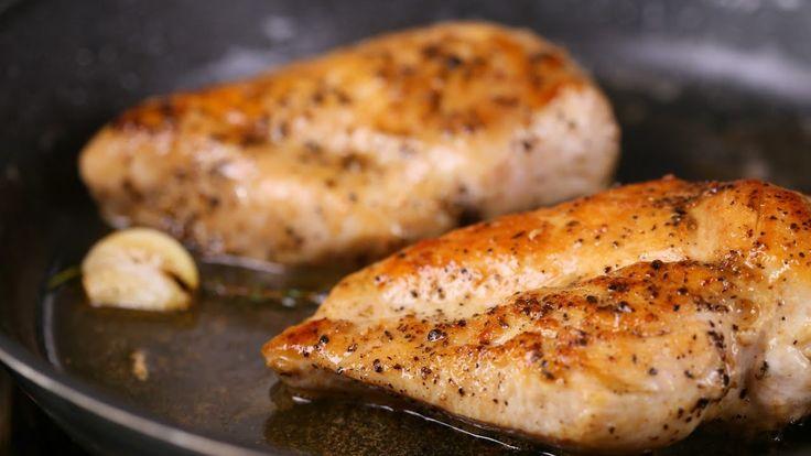Zé konyhai tippjei- így süsd a tökéletes natúr csirkemellet - YouTube