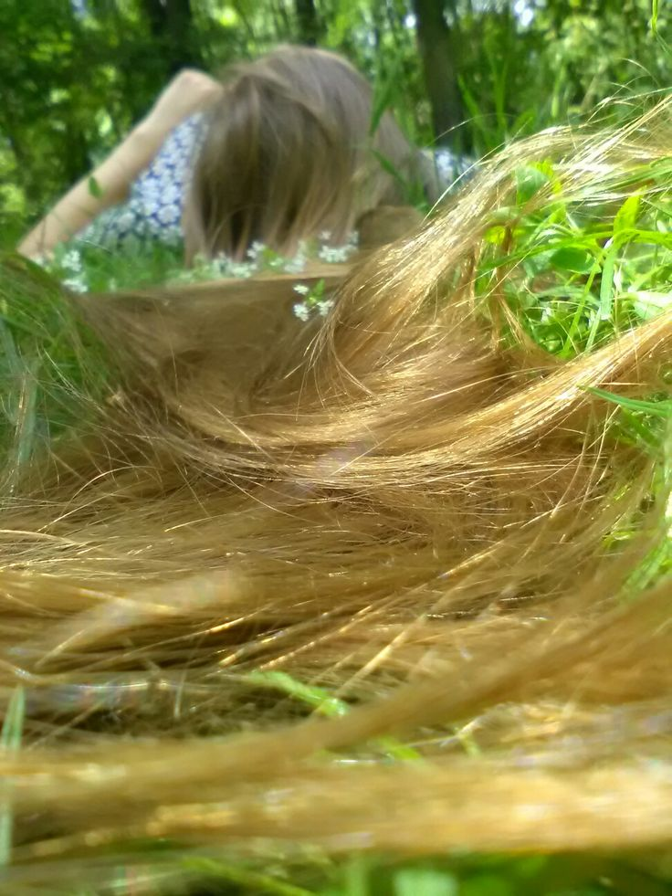 #longhair #blondhair #gold Gorgeous hair ♡