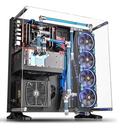 Thermaltake Core P5 Atx Open Frame Panoramic Viewing Tt