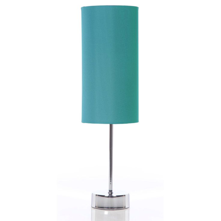 Tiffany Blue Floor Lamps Tall Stick Satin Chrome Table