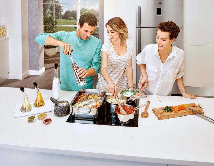Now who said too many chefs spoil the broth?! Cooking together can be fun! Who prefers cooking with friends as opposed to cooking solo?