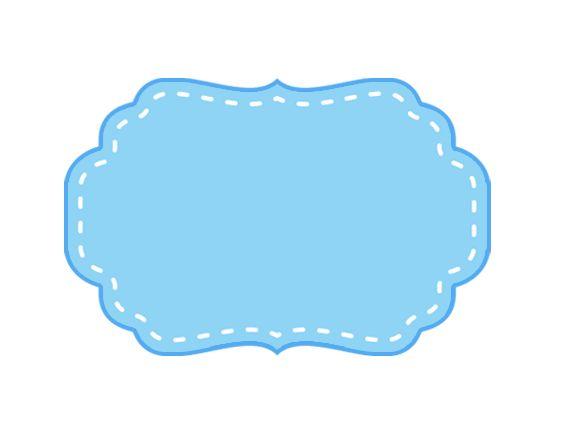 Montando a minha festa Imagens: Frames Pink e Azul