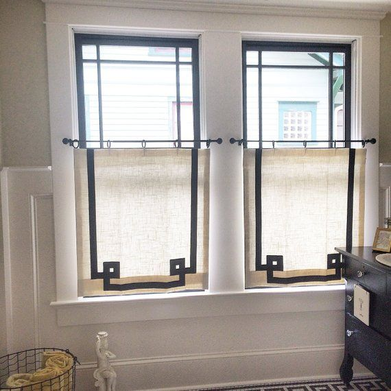 Cafe Curtains Made To Order Bathroom Window Curtains Cafe Curtains Bathroom Windows