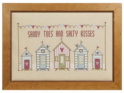 Sandy Toes Cross Stitch - Historical Sampler Company