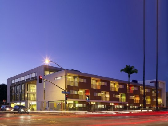 26th Street Affordable Housing, Santa Monica, United States  by: Kanner Architects