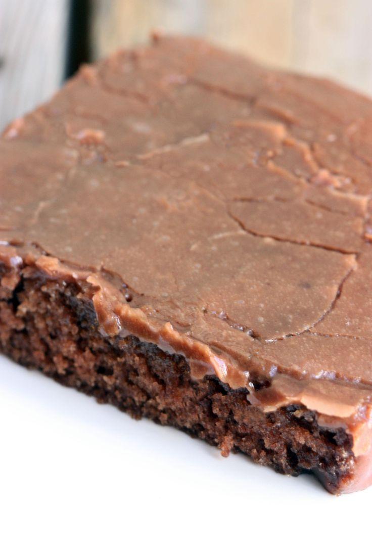 The BEST Texas Sheet Cake recipe on TastesBetterFromScratch.com