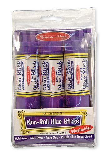 Melissa & Doug Non-Roll Glue Sticks