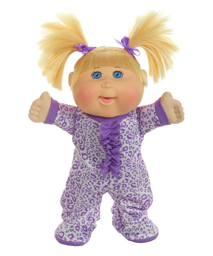 Cabbage Patch Kids 14 Purple Pajama Dance Party Baby