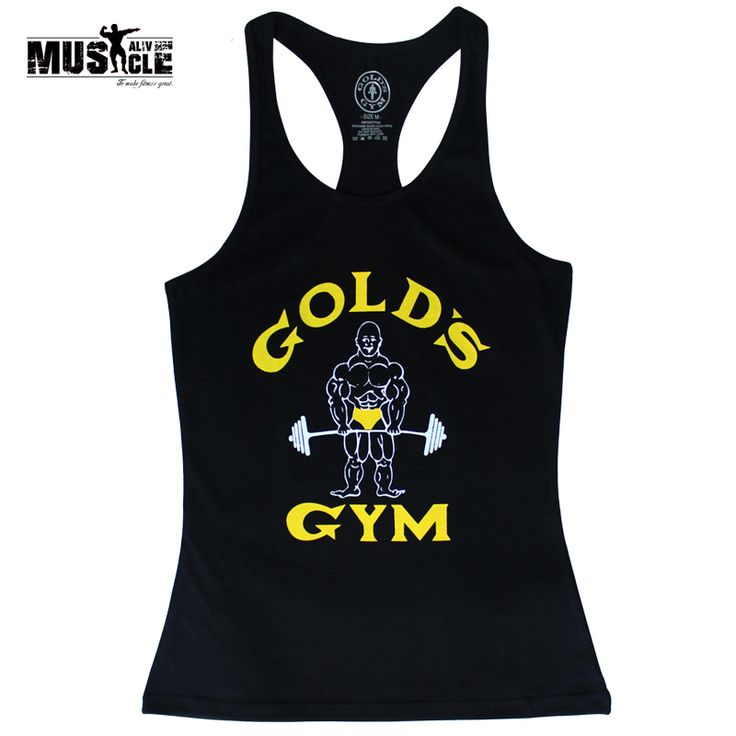 Bodybuilding Tank Top Women Fitness Workout Clothes for women Muscle Stringer Sexy Crop Top Cotton O-neck Sleeveless Golds