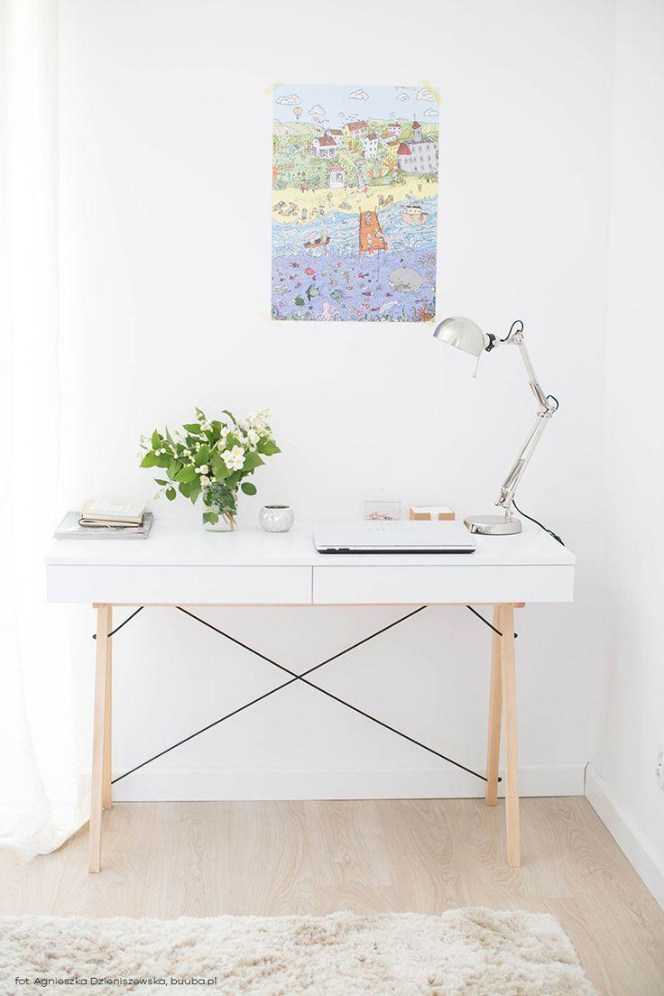 Ponadczasowy design biurka Basic marki Minko sprawdzi się w każdym wnętrzu. Znajdź więcej na: www. euforma.pl                   #minko #biurko #basic #design #school #design #desk