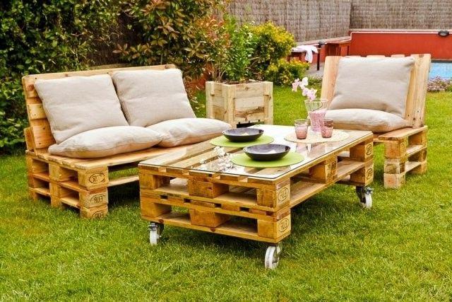 Garten Lounge M Bel Selber Bauen Anregungen Europaletten