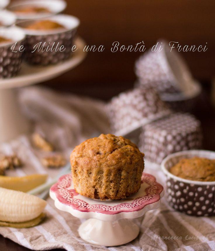 Muffin banane e noci verticale