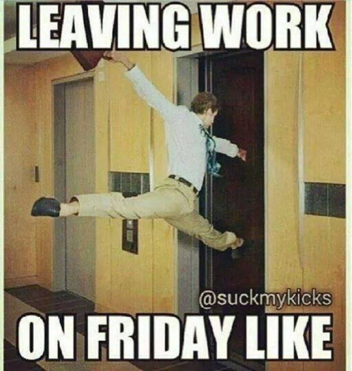 Leaving work meme - http://www.jokideo.com/