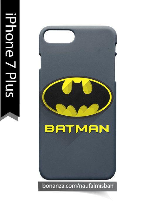 Batman Logo iPhone 7 PLUS Case Cover Wrap Around