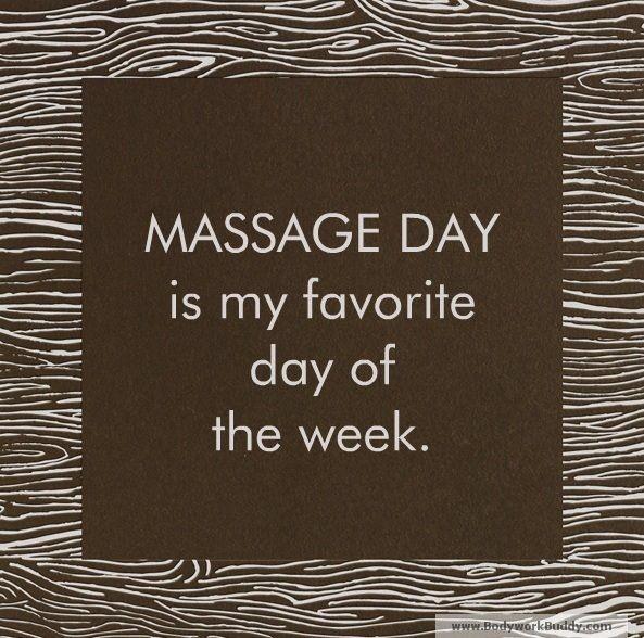 Massage day                                                                                                                                                                                 More