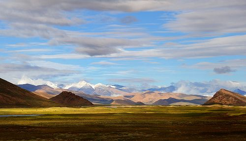 Tibet Himalayan Mountain Range