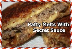 Patty Melts With Secret Sauce | How to Cook Guide