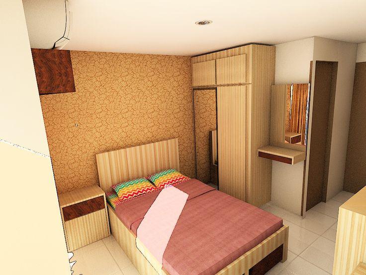 Design furnished with 3dsmax Studio Apatement Jatinangor