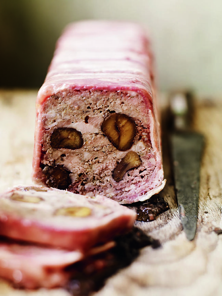 This hearty pheasant and chestnut terrine recipe makes the most of the pheasant whilst it is in season.