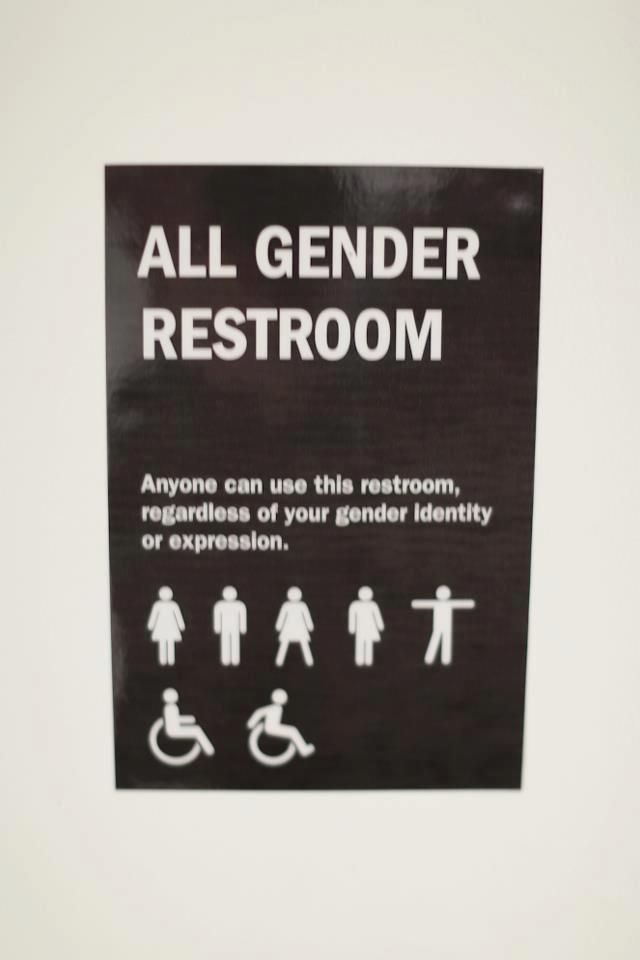 All-gender-friendly spaces need to be more accessible. I know people who are non-binary that would appreciate this.