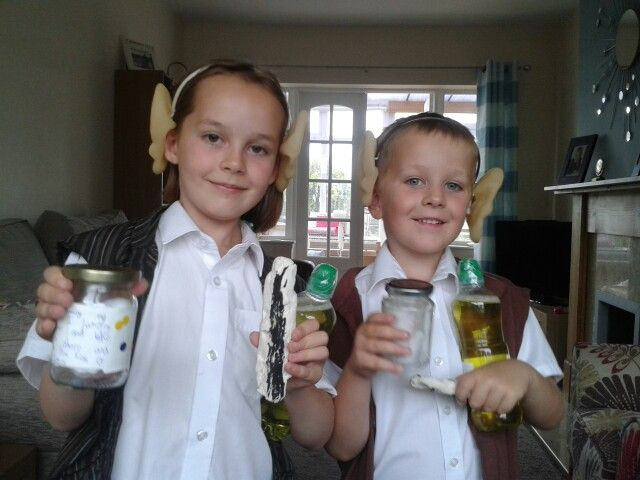 BFG costumes for Roald Dahl day. Waistcoats made from charity shop tops ears sewn  sc 1 st  Pinterest & 59 best Costume Parade Ideas images on Pinterest | The giants ...