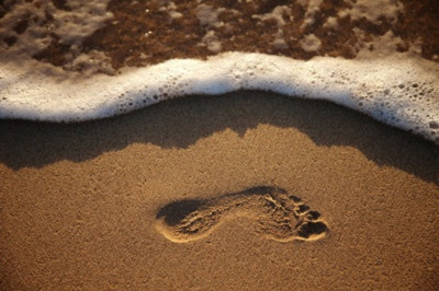 Leaving footprints.: Water, Sands, Walks, Beaches Feet, Baby Footprint, The Wave, Foot Prints, Photo Galleries, The Beaches
