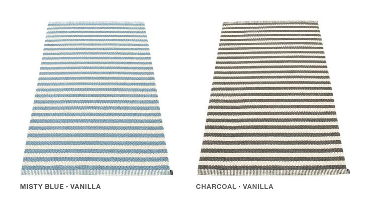 NEW SS2015! DUO in two new colours, misty blue/vanilla + charcoal/vanilla, Pappelina