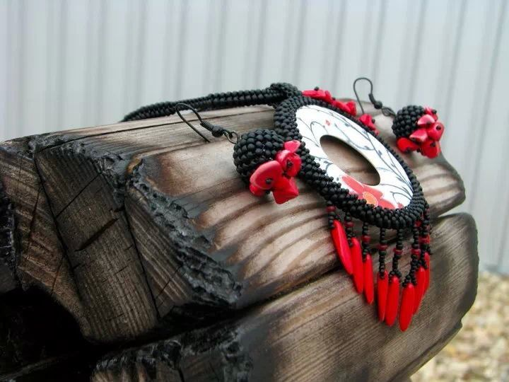 Phantom of the Opera - necklace for beading competition