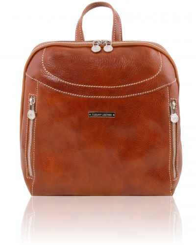 MANILA TL141557 Leather backpack