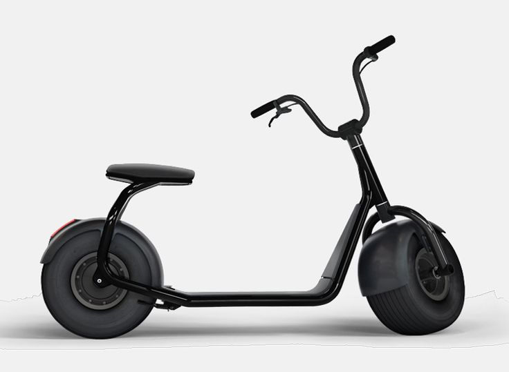 the scrooser is like an electric vespa for cruising the pavement