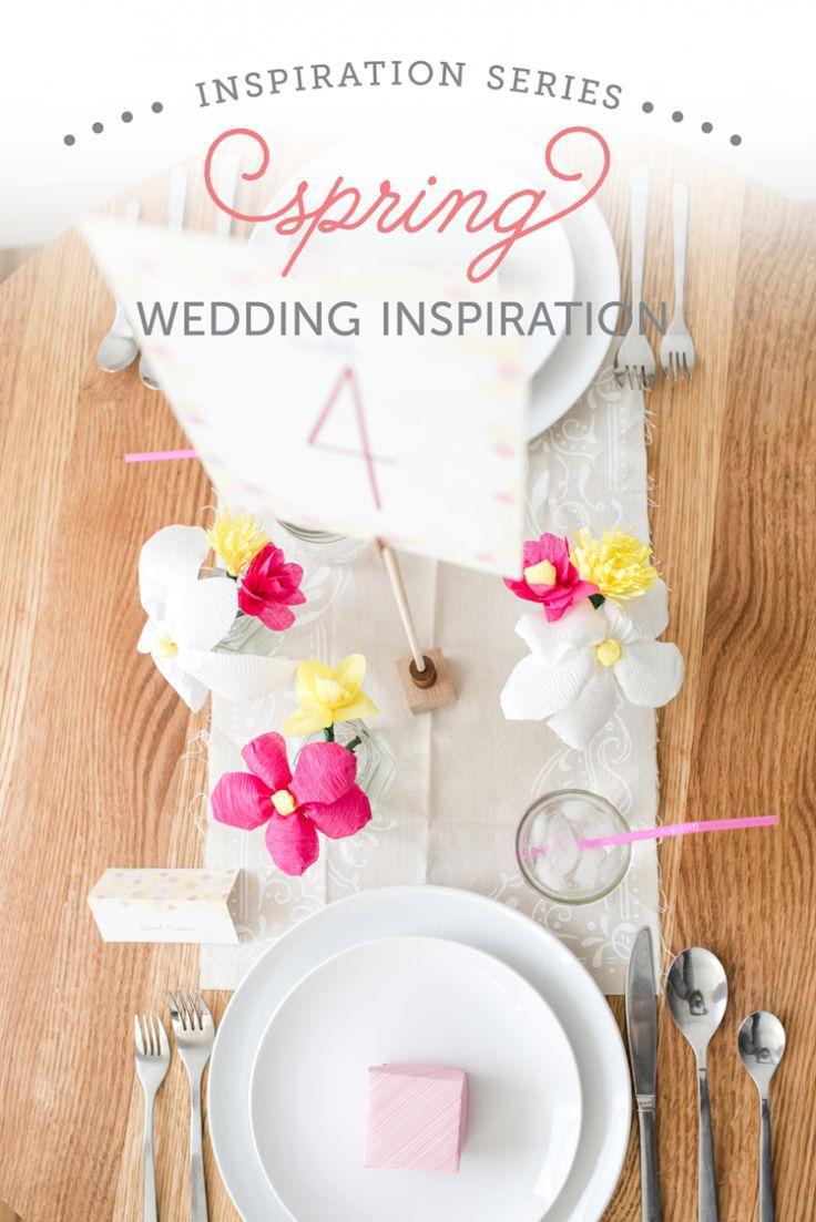 Spring Wedding Inspiration and DIYs   The Budget Savvy Bride