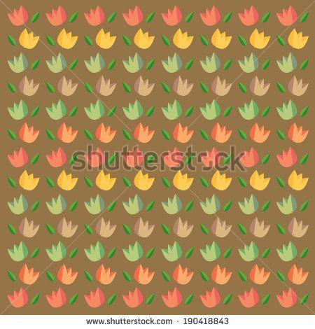 colour flower tulips patterns http://www.shutterstock.com/pic-190418843/stock-vector-colour-flower-tulips-patterns.html?src=kf6DuYeydaJbeAU9sja52A-1-4