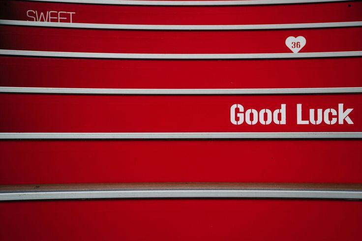 남산 빨간색 계단