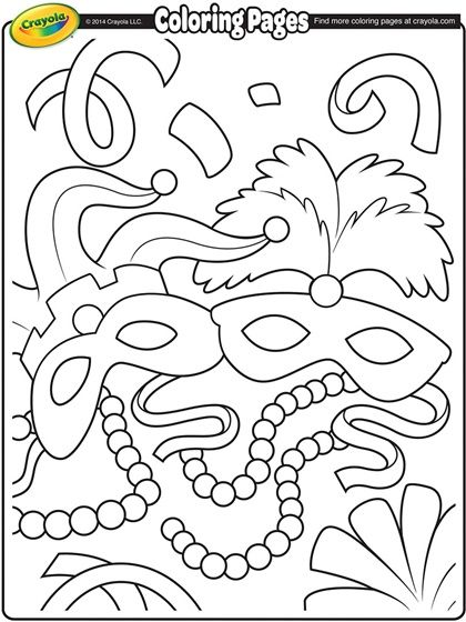 Mardi+Gras+Coloring+Pages   Mardi Gras Coloring Page