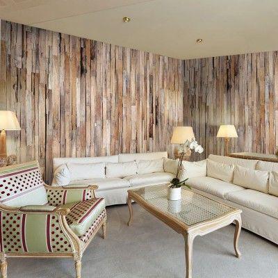 best 20 papier peint effet bois ideas on pinterest. Black Bedroom Furniture Sets. Home Design Ideas