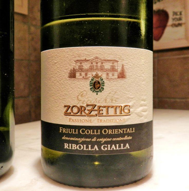 """Genoa 2014 - Wine 2 - A delicious Sauvignon Blanc, unlike """"New World"""" wines, but very delectable."""